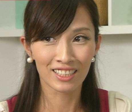 亀井京子の劣化画像