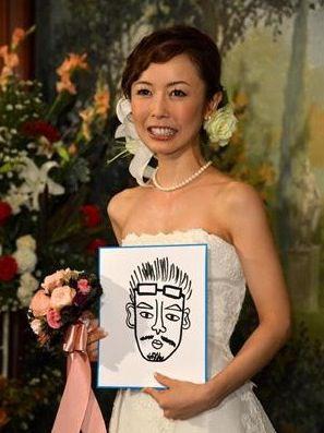 宮崎宣子の結婚画像